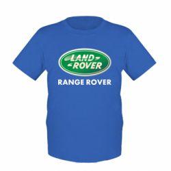 Детская футболка Range Rover - FatLine