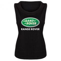 Женская майка Range Rover - FatLine