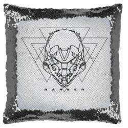Подушка-хамелеон Ranger line art