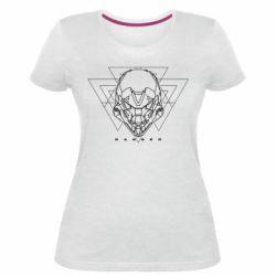 Жіноча стрейчева футболка Ranger line art