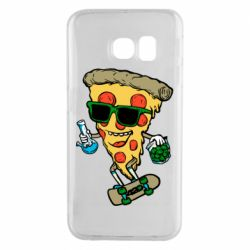 Чехол для Samsung S6 EDGE Rasta pizza