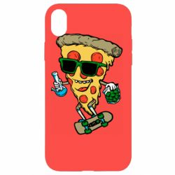 Чехол для iPhone XR Rasta pizza