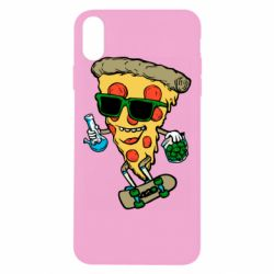 Чехол для iPhone Xs Max Rasta pizza