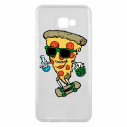 Чехол для Samsung J4 Plus 2018 Rasta pizza