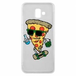 Чехол для Samsung J6 Plus 2018 Rasta pizza