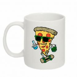 Кружка 320ml Rasta pizza