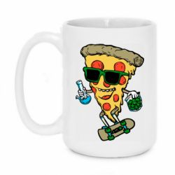 Кружка 420ml Rasta pizza