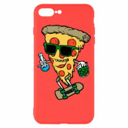 Чехол для iPhone 7 Plus Rasta pizza