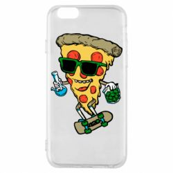 Чехол для iPhone 6/6S Rasta pizza