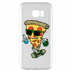 Чехол для Samsung S7 EDGE Rasta pizza