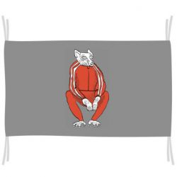 Флаг Rat in a tracksuit