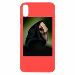 Чехол для iPhone Xs Max Raven in the mantle