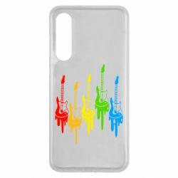Чехол для Xiaomi Mi9 SE Разноцветные гитары