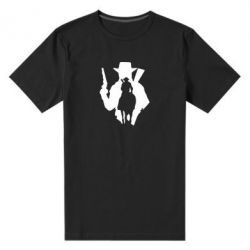 Чоловіча стрейчева футболка RDR silhouette