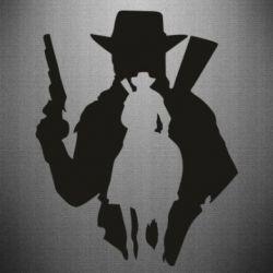 Наклейка RDR silhouette