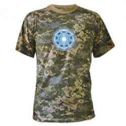 Камуфляжная футболка Реактор Тони Старка - FatLine