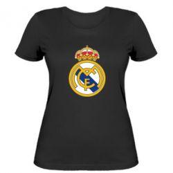 Женская футболка Real Madrid - FatLine