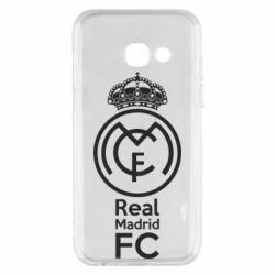 Купить Реал Мадрид (Real Madrid), Чехол для Samsung A3 2017 Реал Мадрид, FatLine