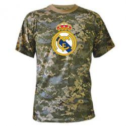 Камуфляжная футболка Real Madrid - FatLine