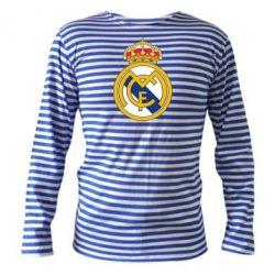 Тельняшка с длинным рукавом Real Madrid - FatLine