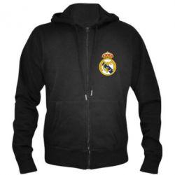 Мужская толстовка на молнии Real Madrid - FatLine
