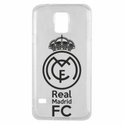 Купить Реал Мадрид (Real Madrid), Чехол для Samsung S5 Реал Мадрид, FatLine