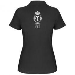 Женская футболка поло Реал Мадрид