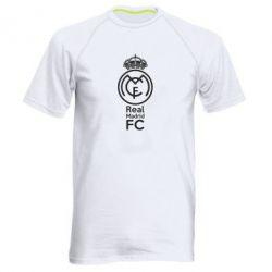 Мужская спортивная футболка Реал Мадрид, FatLine  - купить со скидкой