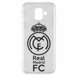 Купить Реал Мадрид (Real Madrid), Чехол для Samsung A6 2018 Реал Мадрид, FatLine