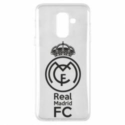 Купить Реал Мадрид (Real Madrid), Чехол для Samsung A6+ 2018 Реал Мадрид, FatLine