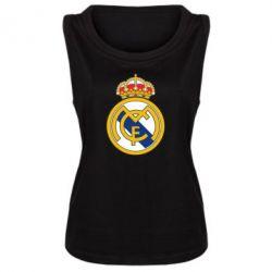 Женская майка Real Madrid - FatLine