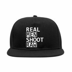 Снепбек Real Men Shoot RAW