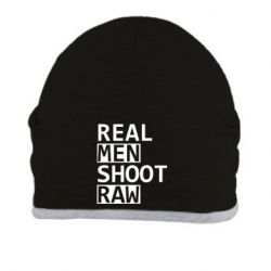 Шапка Real Men Shoot RAW