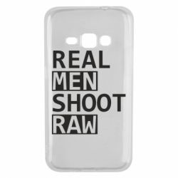 Чохол для Samsung J1 2016 Real Men Shoot RAW