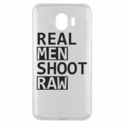 Чохол для Samsung J4 Real Men Shoot RAW