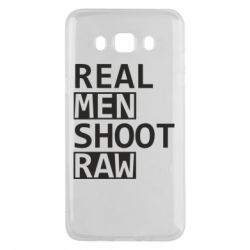 Чохол для Samsung J5 2016 Real Men Shoot RAW