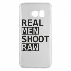 Чохол для Samsung S6 EDGE Real Men Shoot RAW