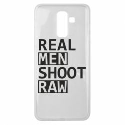 Чохол для Samsung J8 2018 Real Men Shoot RAW