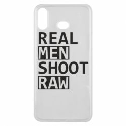 Чохол для Samsung A6s Real Men Shoot RAW