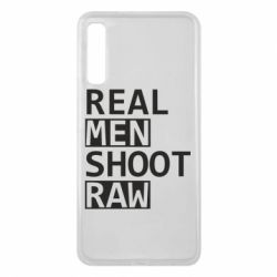 Чохол для Samsung A7 2018 Real Men Shoot RAW