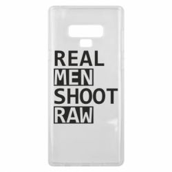 Чохол для Samsung Note 9 Real Men Shoot RAW