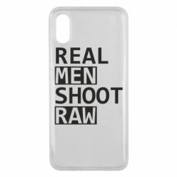 Чохол для Xiaomi Mi8 Pro Real Men Shoot RAW