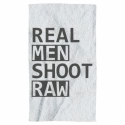 Рушник Real Men Shoot RAW