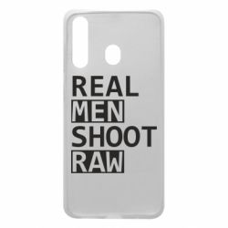 Чохол для Samsung A60 Real Men Shoot RAW
