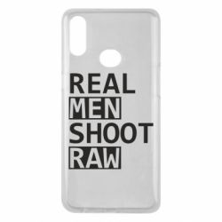 Чохол для Samsung A10s Real Men Shoot RAW