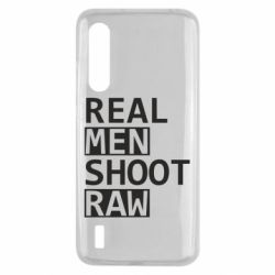 Чохол для Xiaomi Mi9 Lite Real Men Shoot RAW