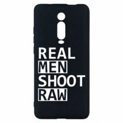 Чохол для Xiaomi Mi9T Real Men Shoot RAW