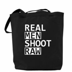Сумка Real Men Shoot RAW