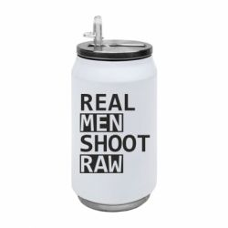 Термобанка 350ml Real Men Shoot RAW