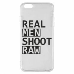 Чохол для iPhone 6 Plus/6S Plus Real Men Shoot RAW